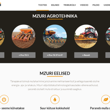 Mzuri Estonia website
